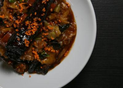 Bison Short Rib & Broken Noodles (Shitake, Bok Choi, Carrots)